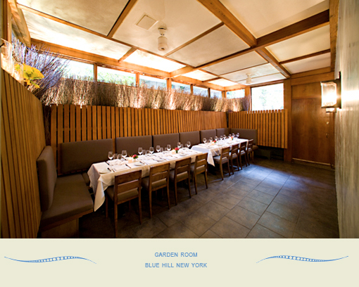 Overview blue hill farm for Best restaurants with private dining rooms nyc