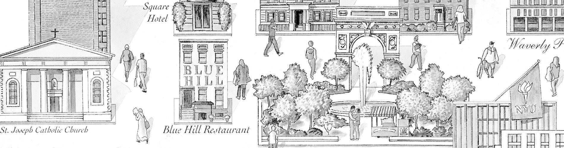 Map Of New York Restaurants.Dine At Blue Hill New York Blue Hill Farm