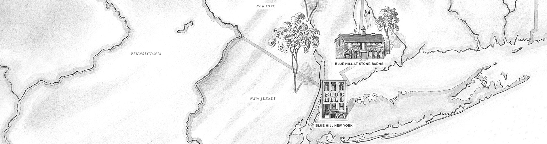 Blue Hill Farm locations map